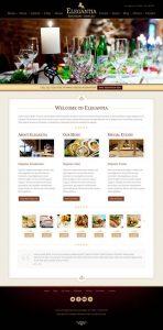 Sito internet economico - template ristorante