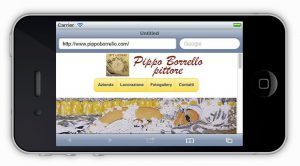 Siti internet per dispositivi mobili - orizzontale - homepage