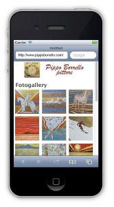 Siti internet per dispositivi mobili - verticale - gallery