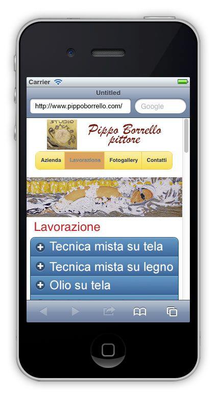 Siti internet per dispositivi mobili visione verticale for Siti per mobili