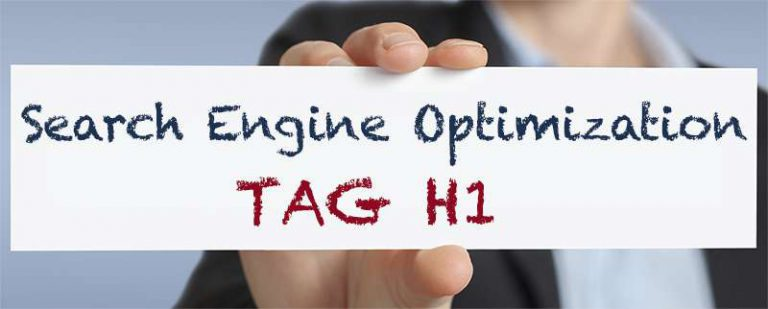 Tag H1 l'importanza nell'ottimizzazione
