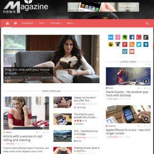 Grafica web - Stile grafico magazine