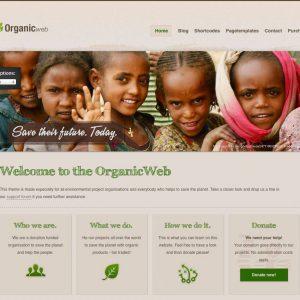 Grafica web - Stile grafico organic