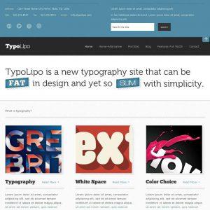 Grafica web - Stile grafico typography
