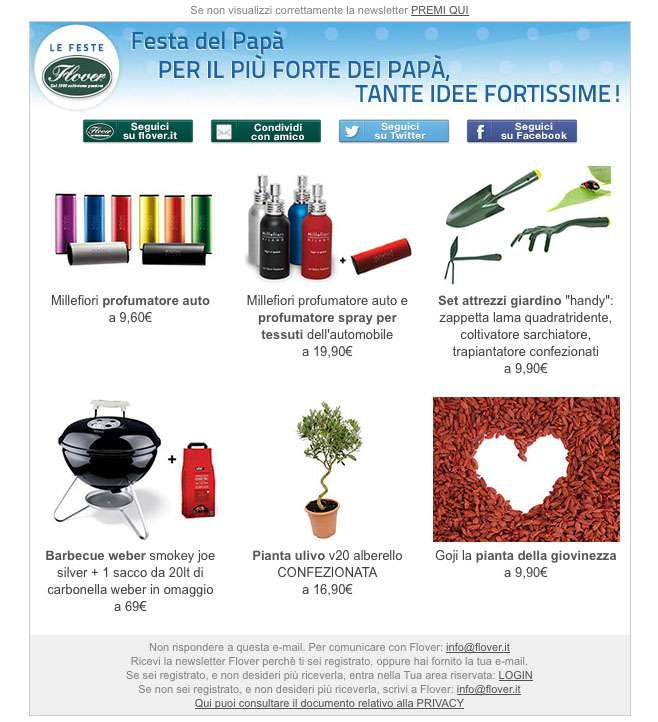Newsletter personalizzate 12