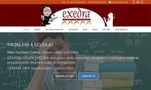 Exedra - homepage testata
