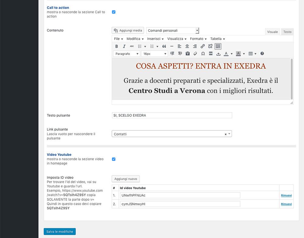 Exedra - amministrazione homepage 03