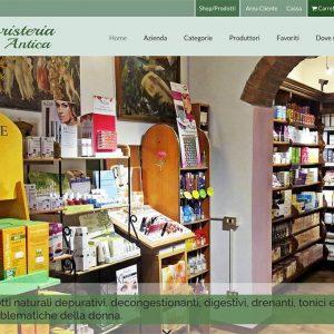 Erboristeria Città Antica - homepage 1