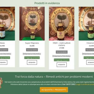 Erboristeria Città Antica - homepage 3