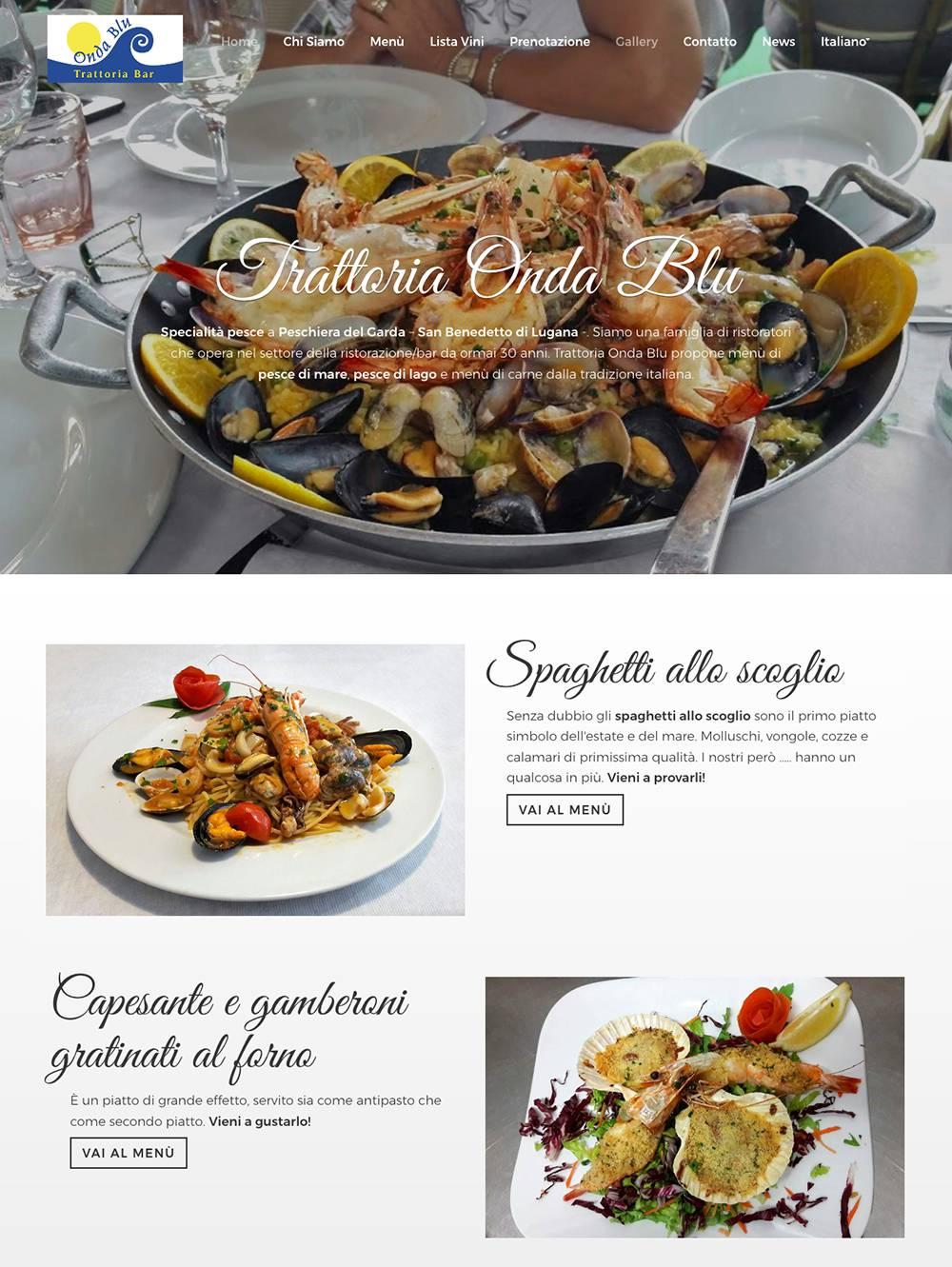 Trattoria Onda Blu - homepage 01