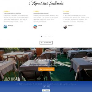Trattoria Onda Blu - homepage 03 Inglese
