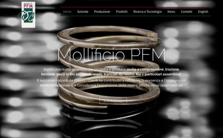 Mollificio PFM - sezione Hero