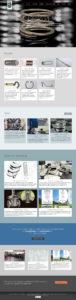 Visualizzazione Home page - tutte le sezioni utilizzate