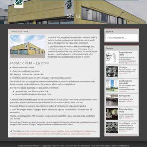 Mollificio PFM - pagina singola