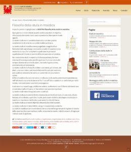 Una pagina istituzionale - SKK stufe in maiolica